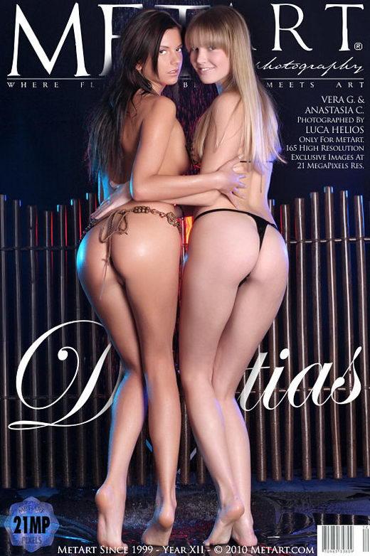 Vera G & Anastasia C - `Dialitias` - by Luca Helios for METART