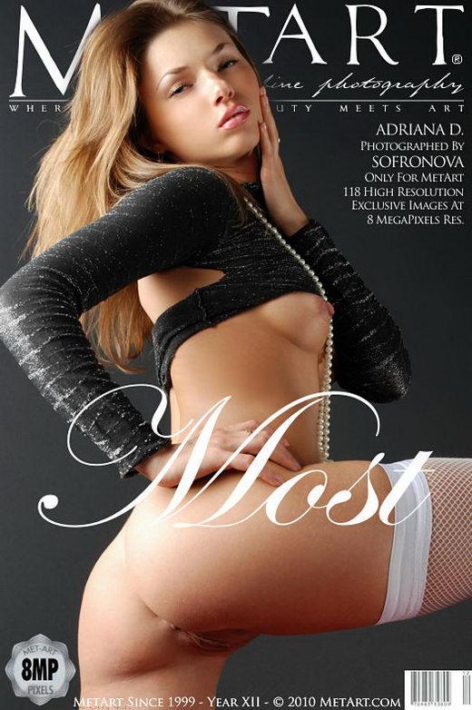 Adriana D - `Most` - by Sofronova Anastasia for METART