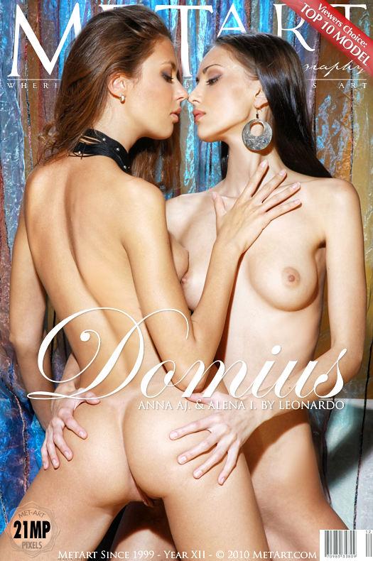 Alena I & Anna Aj - `Domius` - by Leonardo for METART