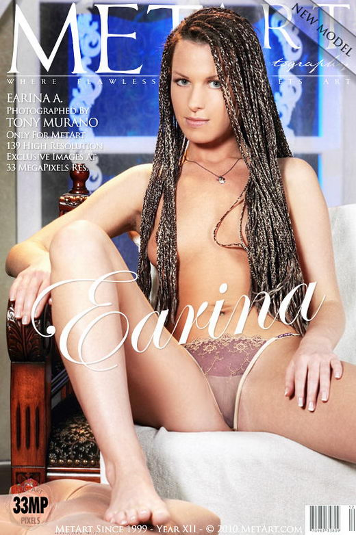 Earina A - `Presenting Earina` - by Tony Murano for METART