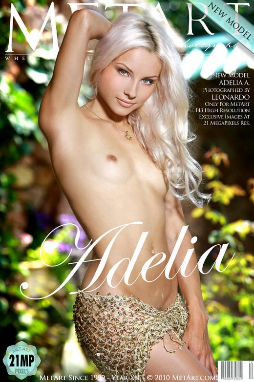 Adelia A - `Presenting Adelia` - by Leonardo for METART