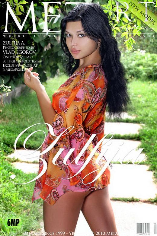 Zulfija A - `Presenting Zulfija` - by Vlad Egorov for METART