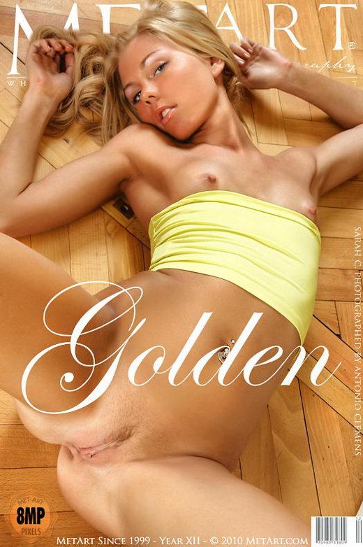 Sarah C - `Golden` - by Antonio Clemens for METART