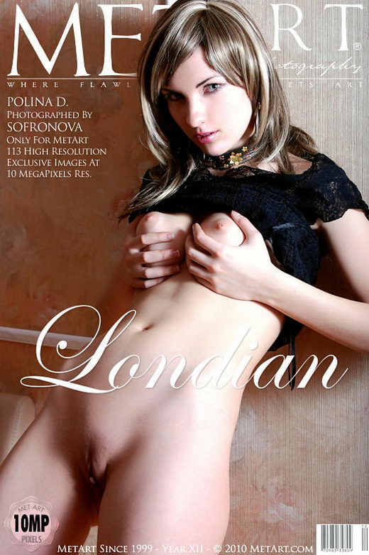 Polina D - `Londian` - by Sofronova Anastasia for METART