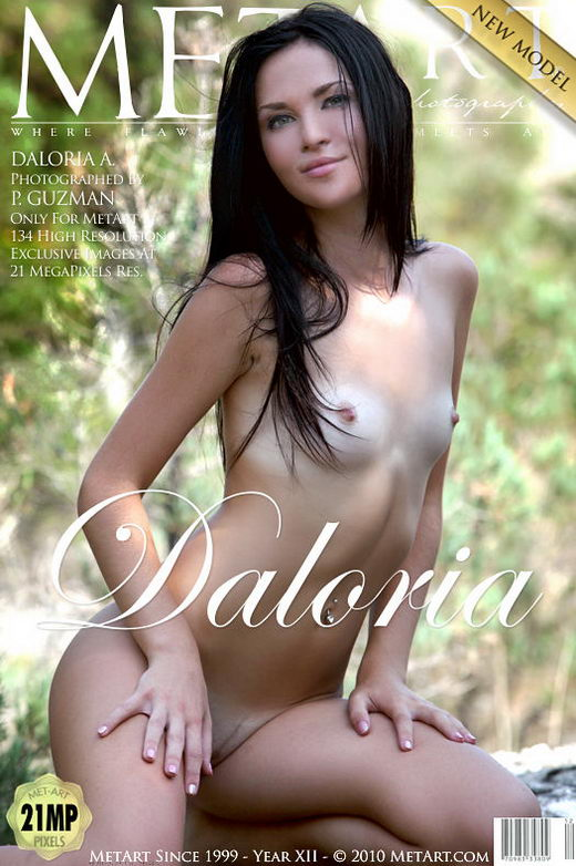 Daloria A - `Presenting Daloria` - by Peter Guzman for METART