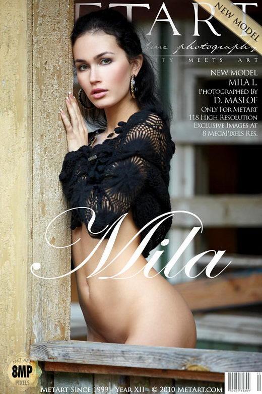 Mila L - `Presenting Mila` - by Dmitry Maslof for METART