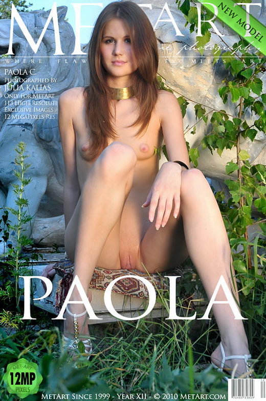 Paola C - `Presenting Paola` - by Julia Kalias for METART