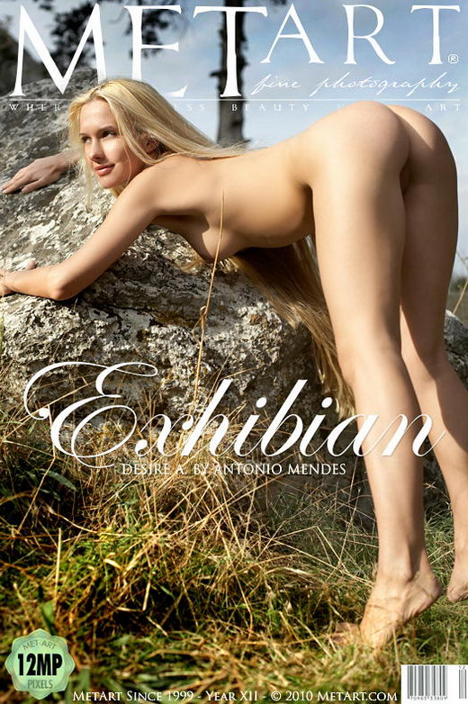 Desire A in Exhibian gallery from METART by Antonio Mendes