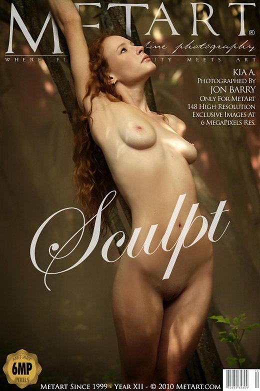 Kia A - `Sculpt` - by Jon Barry for METART