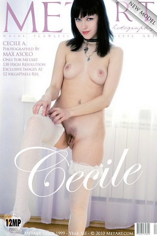 Cecile A - `Presenting Cecile` - by Max Asolo for METART