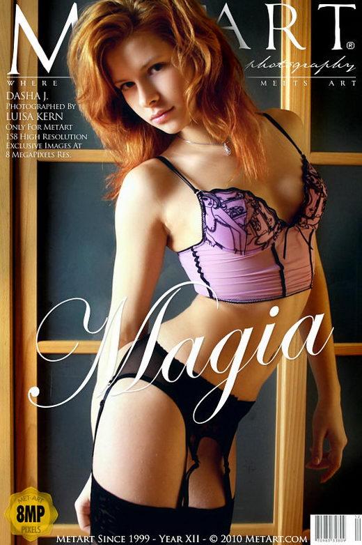 Dasha J - `Magia` - by Luisa Kern for METART