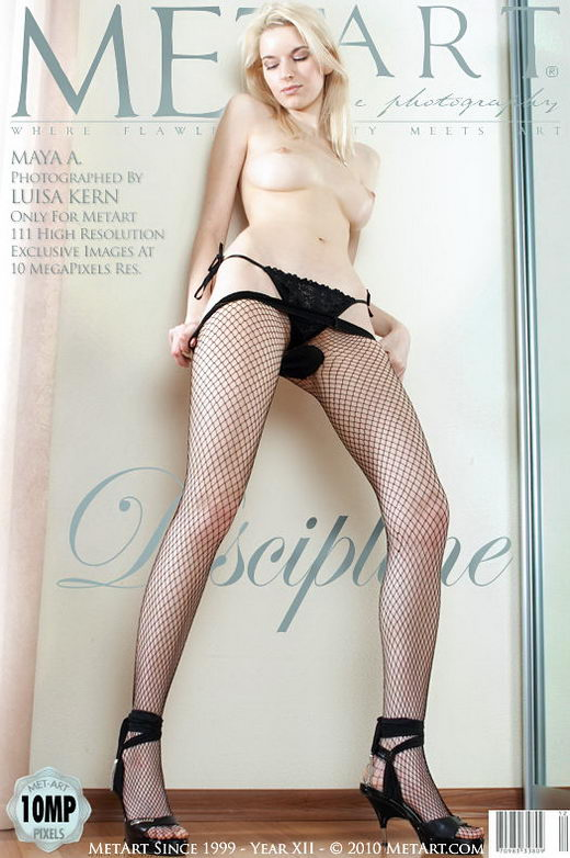 Maya A - `Discipline` - by Luisa Kern for METART