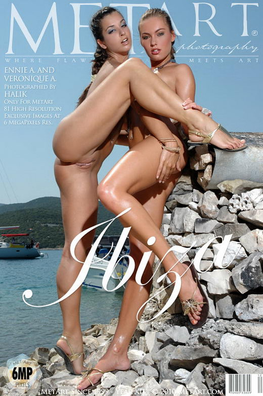 Ennie A & Veronique A - `Ibiza` - by Halik for METART
