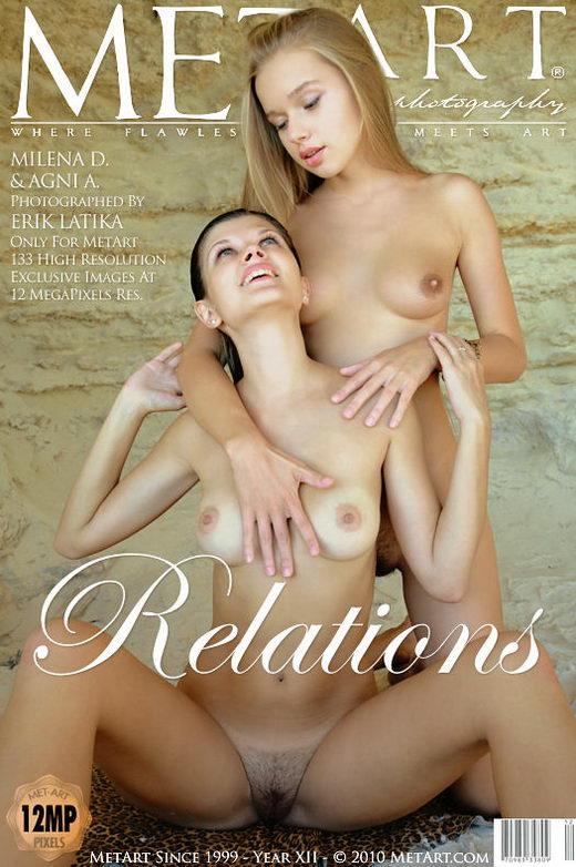 Agni A & Milena D - `Relations` - by Erik Latika for METART