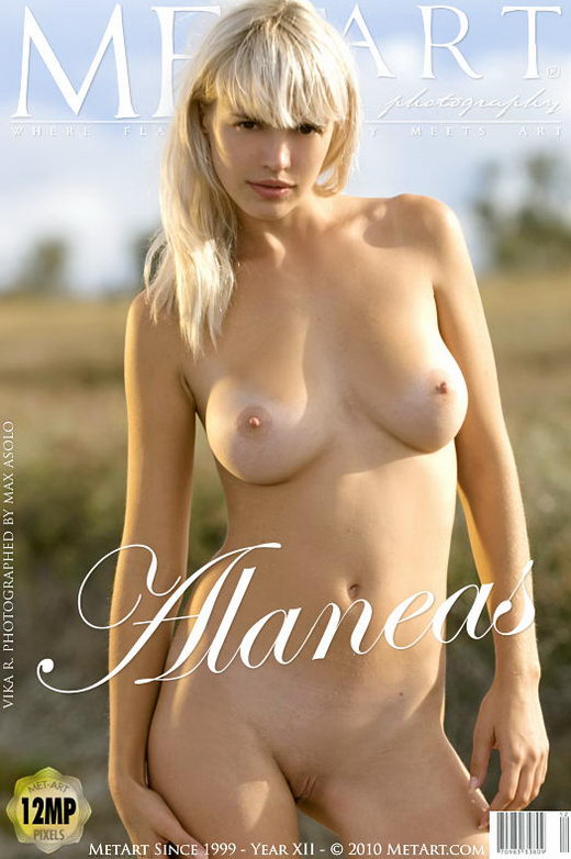 Vika R - `Alaneas` - by Max Asolo for METART