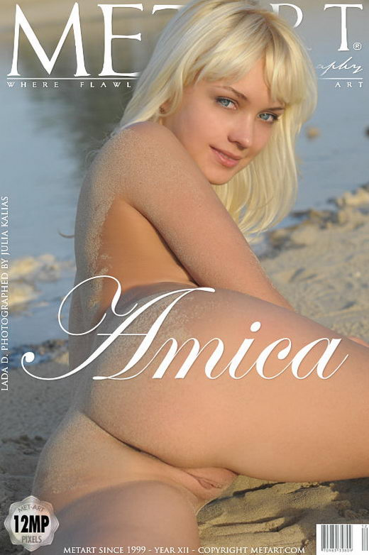 Lada D - `Amica` - by Julia Kalias for METART