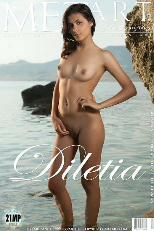 Belinda A - `Diletia` - by Peter Guzman for METART