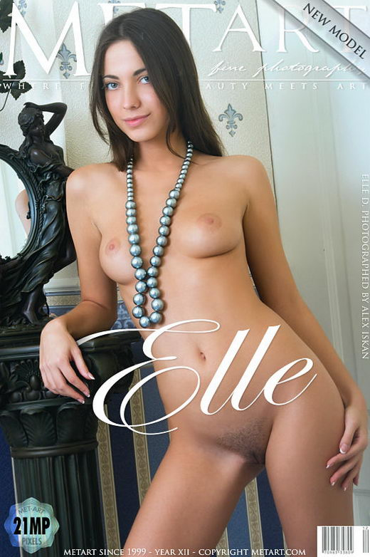 Elle D - `Presenting Elle` - by Alex Iskan for METART