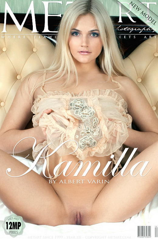 Kamilla A - `Presenting Kamilla` - by Albert Varin for METART