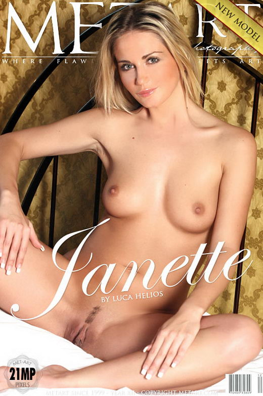 Janette A - `Presenting Janette` - by Luca Helios for METART