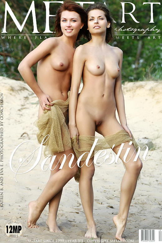 Eva E & Katrin B - `Sandestin` - by Goncharov for METART