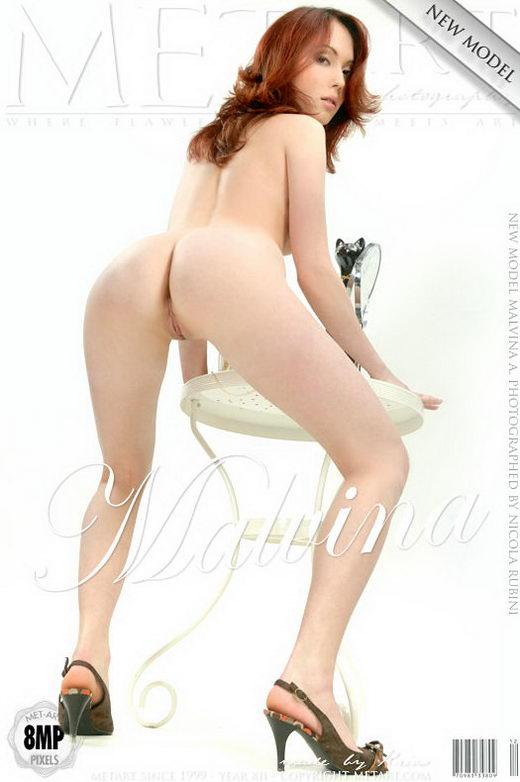 Malvina A - `Presenting Malvina` - by Nicola Rubini for METART