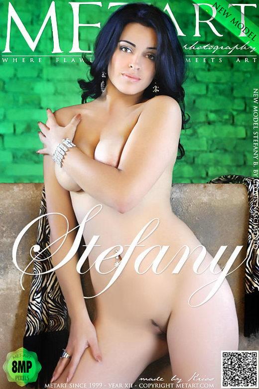 Stefany B - `Presenting Stefany` - by Clovis Nascimento for METART