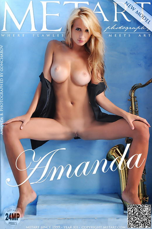 Amanda B - `Presenting Amanda` - by Goncharov for METART
