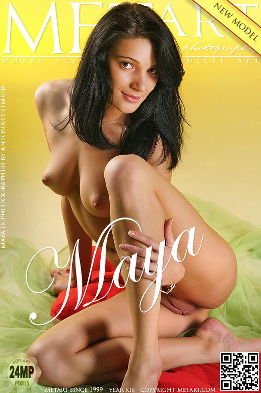 Maya D - `Presenting Maya` - by Antonio Clemens for METART