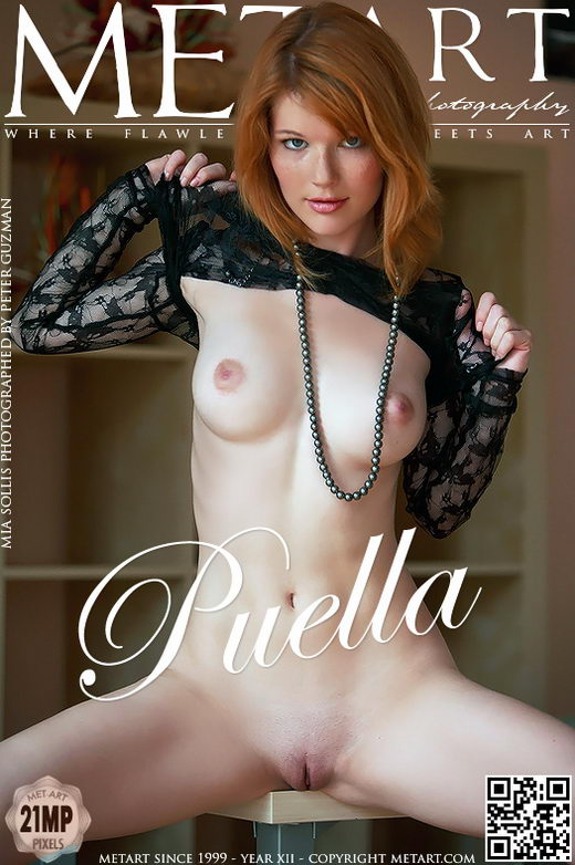 Mia Sollis - `Puella` - by Peter Guzman for METART