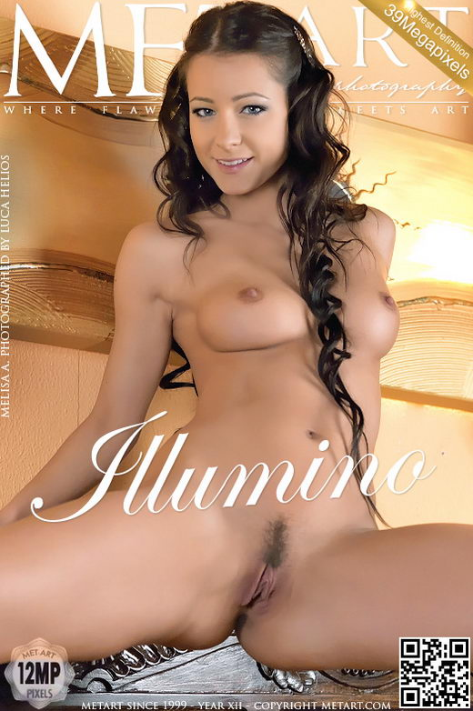 Melisa A - `Illumino` - by Luca Helios for METART