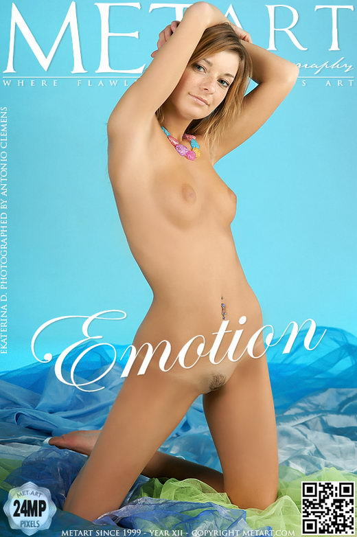 Ekaterina D - `Emotion` - by Antonio Clemens for METART