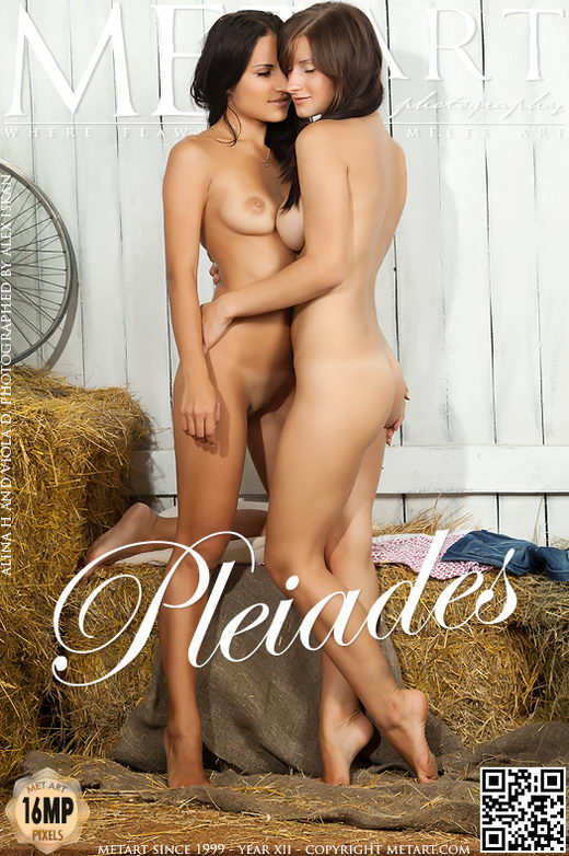 Alina H & Viola D - `Pleiades` - by Alex Iskan for METART