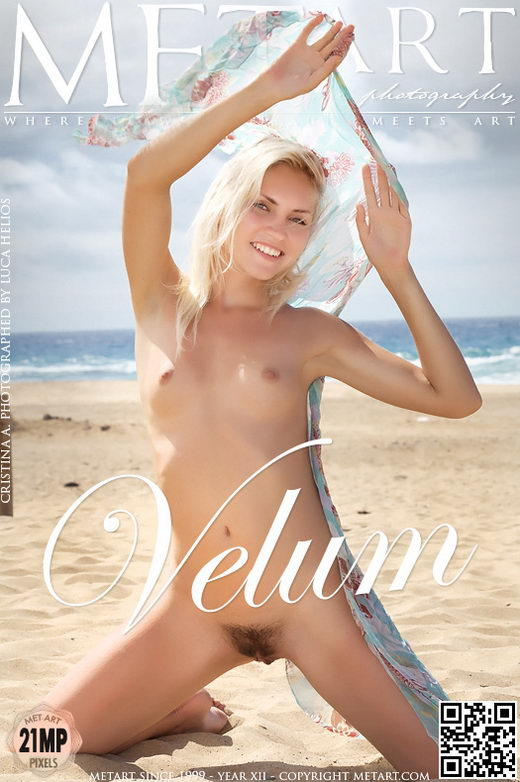 Cristina A - `Velum` - by Luca Helios for METART