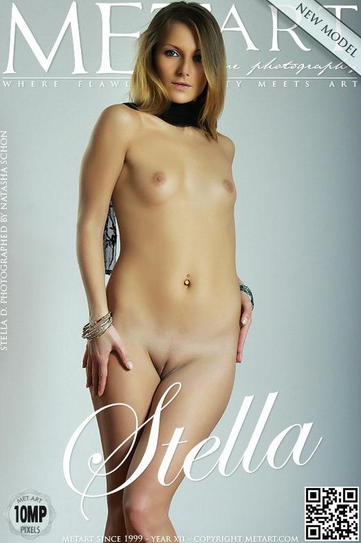 Stella D - `Presenting Stella` - by Natasha Schon for METART