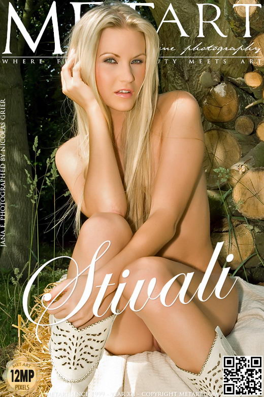 Jana A - `Stivali` - by Nicolas Grier for METART