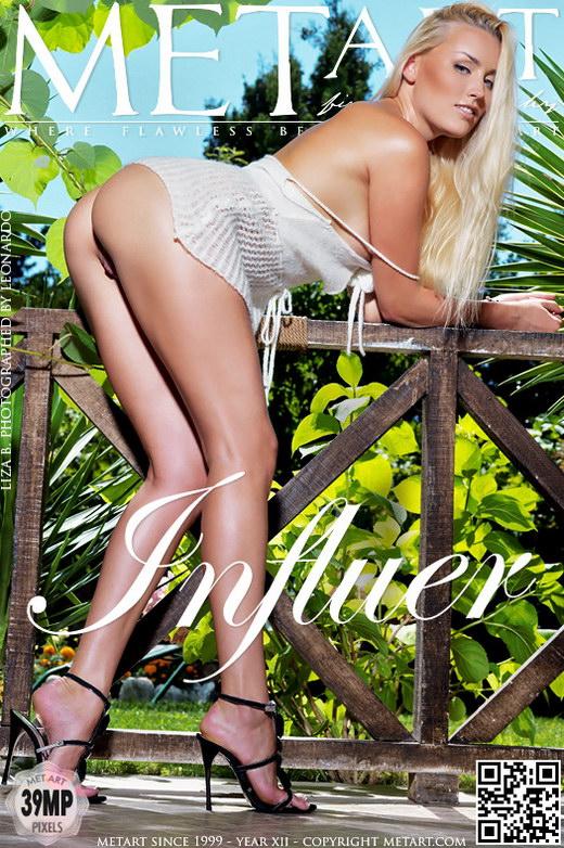 Liza B - `Influer` - by Leonardo for METART