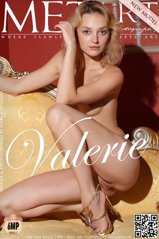 Valerie A - `Presenting Valerie` - by Egon Schneider for METART