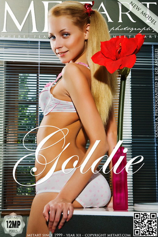 Adelia B - `Presenting Goldie` - by Los Angeles for METART