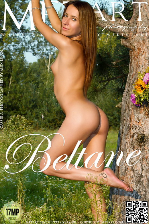 Cassie A - `Beltane` - by Alex Iskan for METART