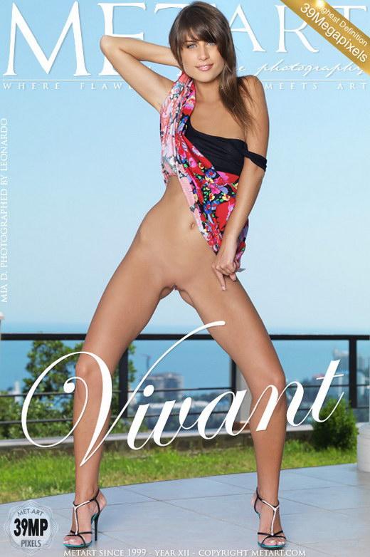 Mia D - `Vivant` - by Leonardo for METART