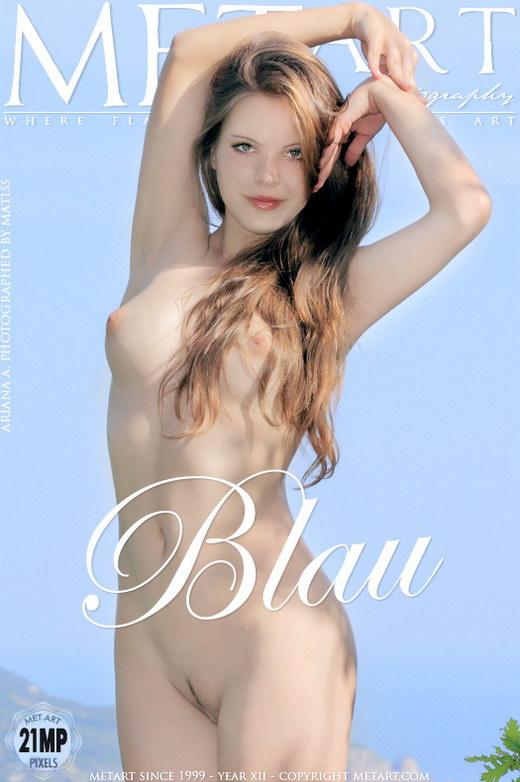 Ariana A - `Blau` - by Matiss for METART