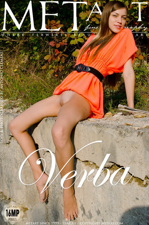 Sofy B - `Verba` - by Antonio Clemens for METART