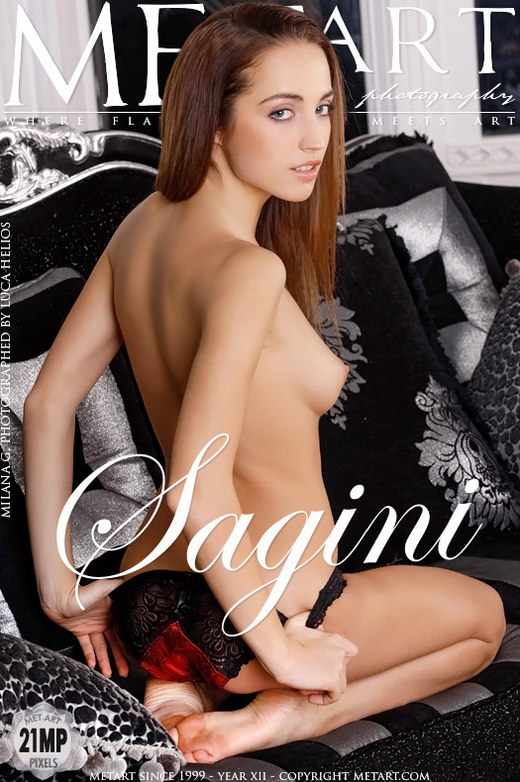 Milana G - `Sagini` - by Luca Helios for METART