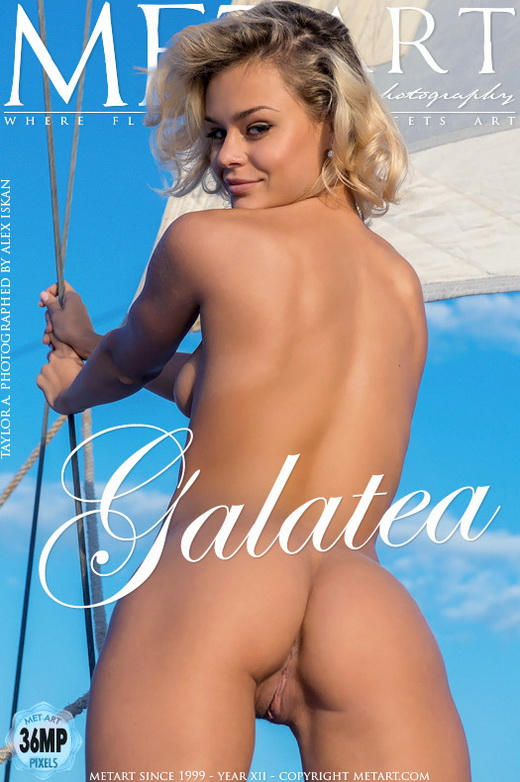 Taylor A - `Galatea` - by Alex Iskan for METART