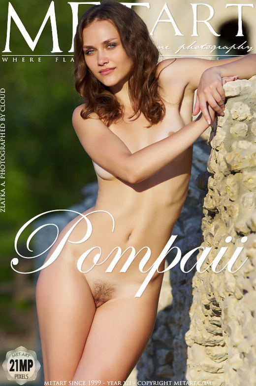 Zlatka A - `Pompaü` - by Cloud for METART