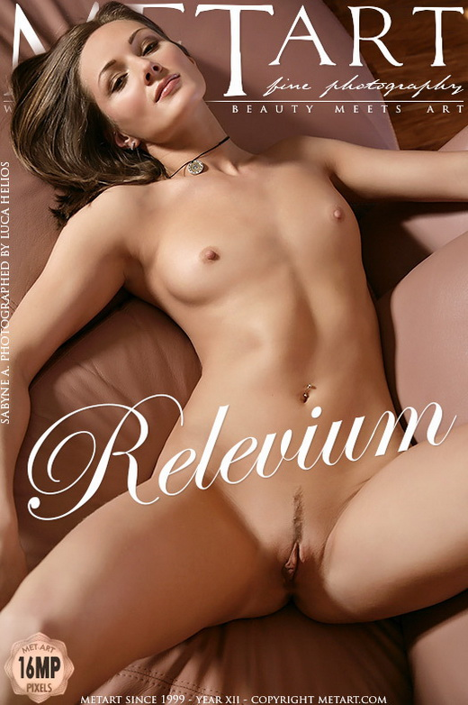 Sabyne A - `Relevium` - by Luca Helios for METART