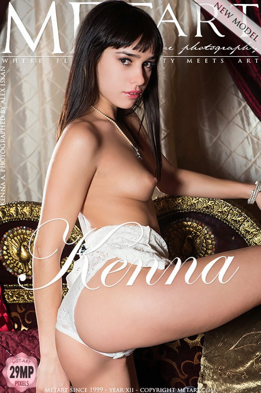 Kenna A - `Presenting Kenna` - by Alex Iskan for METART