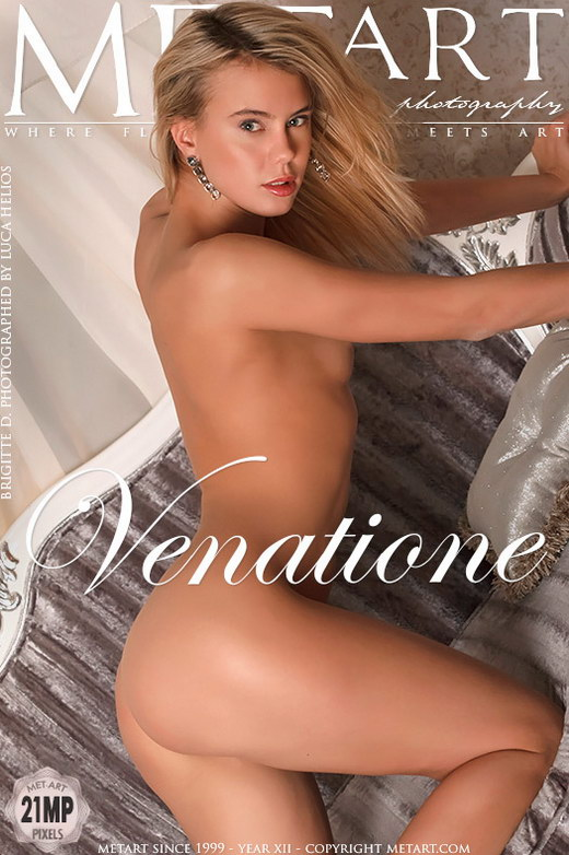 Brigitte D - `Venatione` - by Luca Helios for METART