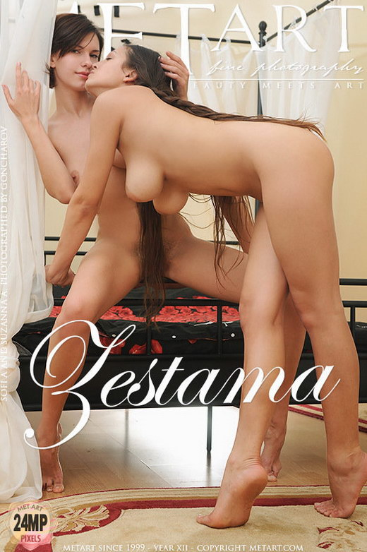 Sofi A & Suzanna A - `Zestama` - by Goncharov for METART